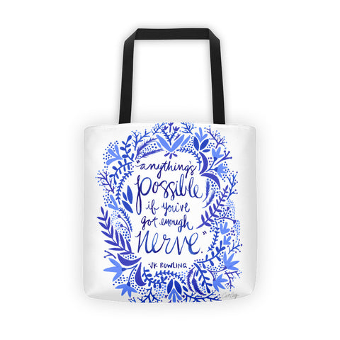 Anything's Possible – Navy Palette • Tote Bag