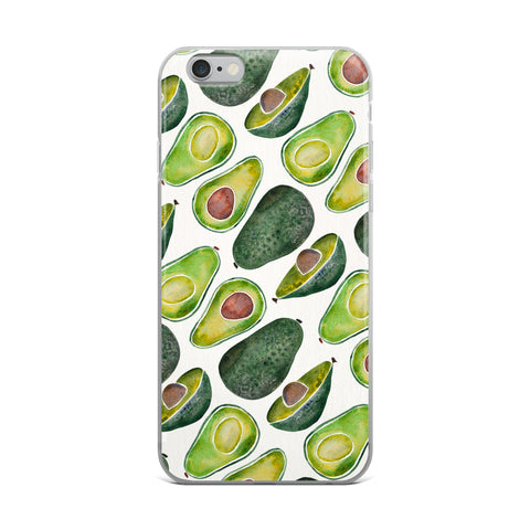 Avocado Slices • iPhone Case