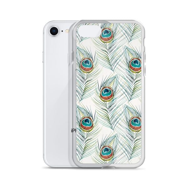 Peacock Feather • iPhone Case