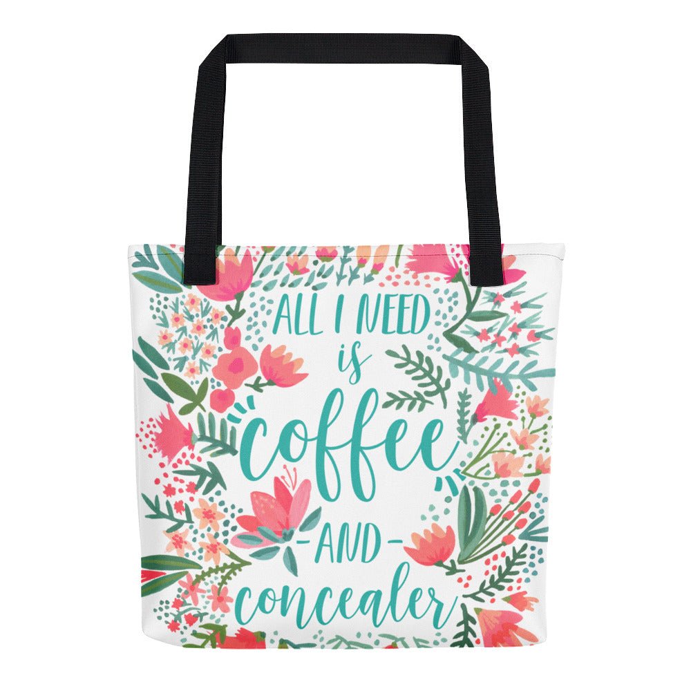 Coffee & Concealer – Juicy Palette • Tote Bag