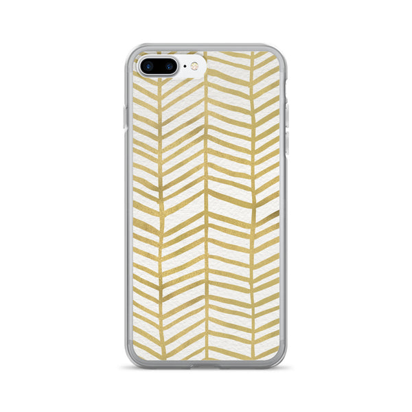 Herringbone – Gold Palette • iPhone 7/7 Plus Case