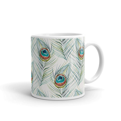 Peacock Feather • Mug