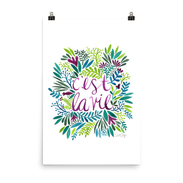 That's Life – Spring Palette • Art Print