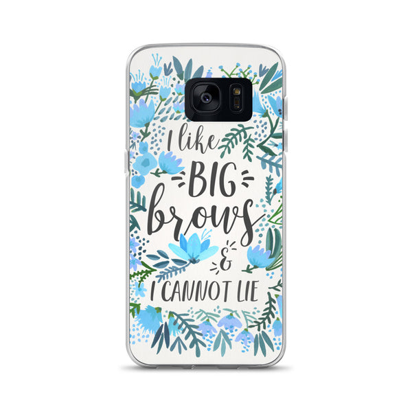 Big Brows – Blue Palette • Samsung Case
