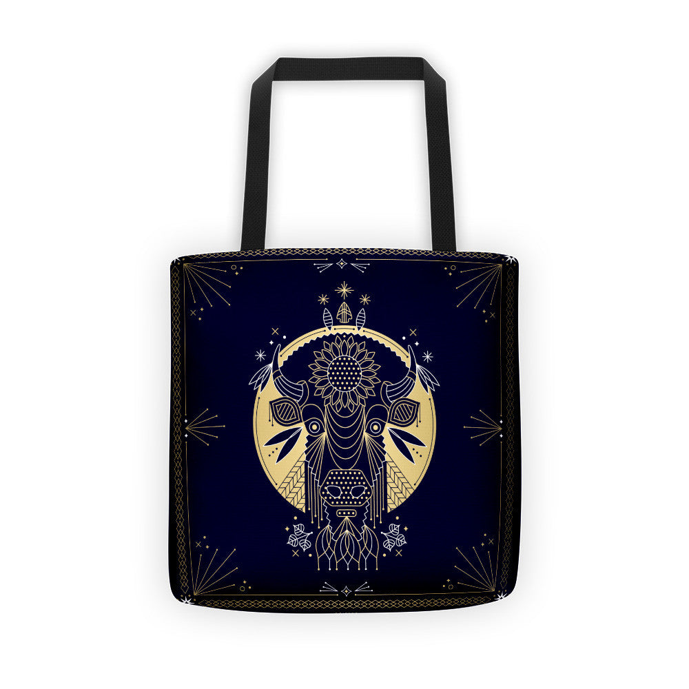 The American Bison  •  Tote Bag