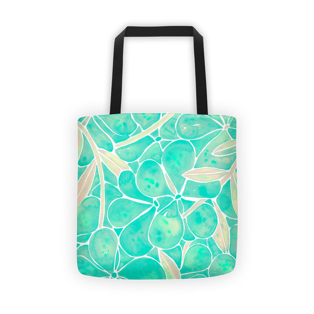 Orchid Wall – Mint Palette  •  Tote Bag
