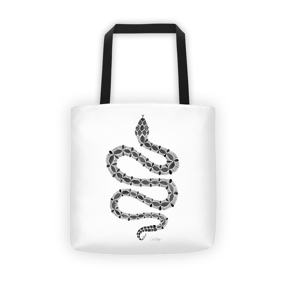 Serpent – Black Palette • Tote Bag