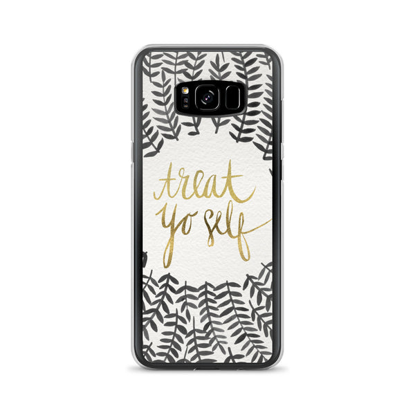 Treat Yo Self – Black Palette • Samsung Case