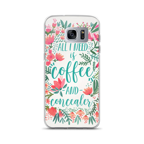 Coffee & Concealer – Juicy Palette • Samsung Case