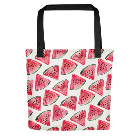Watermelon Slices • Tote Bag