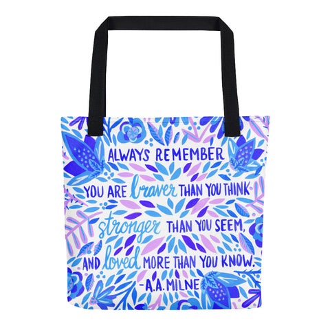 Always Remember – Indigo Palette • Tote Bag