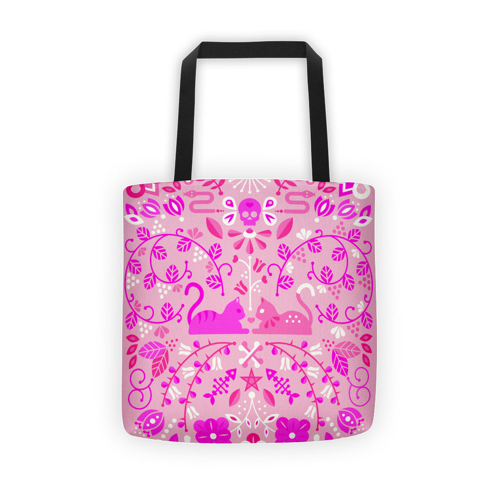 Kitten Lovers – Pink Palette  •  Tote Bag