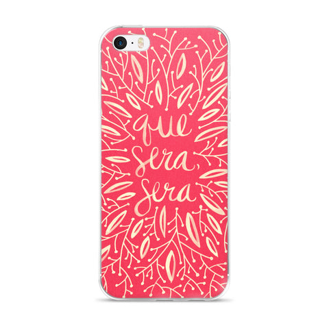 Whatever Will Be, Will Be – Illustrated Melon Palette • iPhone 5/5s/Se, 6/6s, 6/6s Plus Case