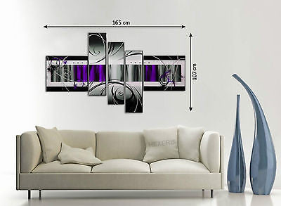 Hand Painted Canvas Panels - Amazing Curtains