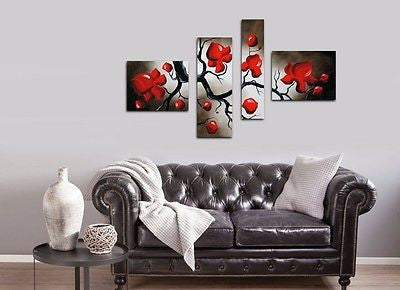 XL Framed Multi Panel Canvas - Amazing Curtains