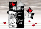 Just Me Just You Bedding Set - AmazingCurtains