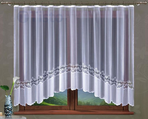 "Jardiniere Net Curtain ""Allegrina"" 300 x 160cm - Amazing Curtains"