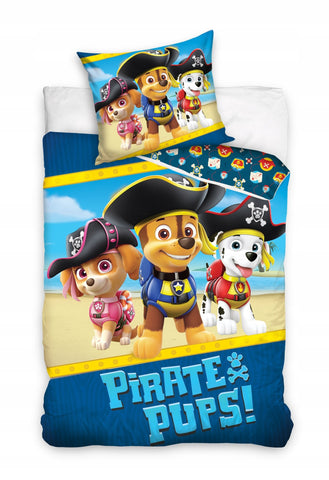 Paw Patrol Single Bedding Set 140 x 200cm - Amazing Curtains