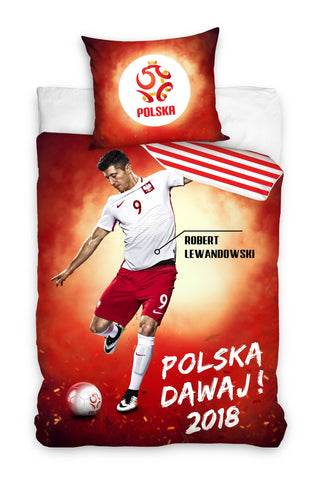 Robert Lewandowski Bedding Set 140 x 200cm - Amazing Curtains