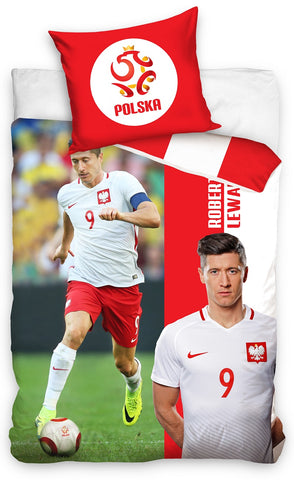 Official Bedding Set - Lewandowski 173039 - Amazing Curtains