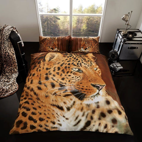Leopard Duvet Cover & Pillowcases - Amazing Curtains