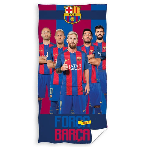 Official FC Barcelona Beach Bath Towel