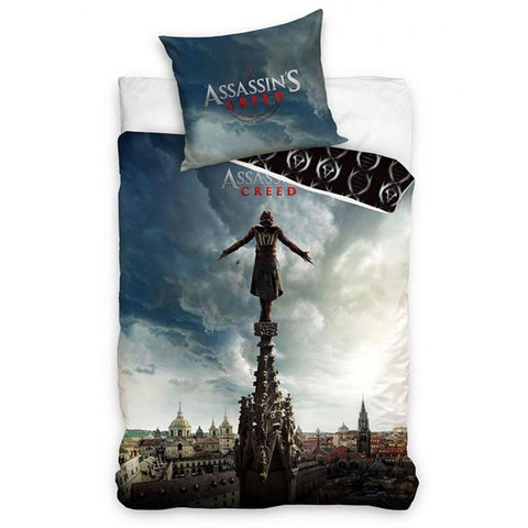 Assassin's Creed Single Duvet Set - 100% Cotton - Amazing Curtains