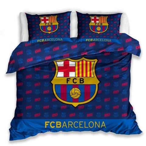 FC Barcelona Bedding Set - Double Size 200x200cm - Amazing Curtains