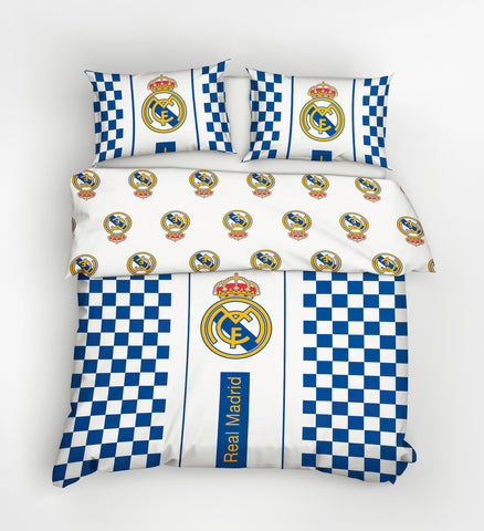 Real Madrid Bedding Set - Double Size 200x200cm - Amazing Curtains