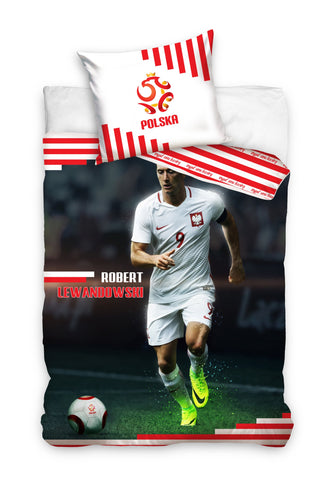 Official Bedding Set - Lewandowski #5 - Amazing Curtains
