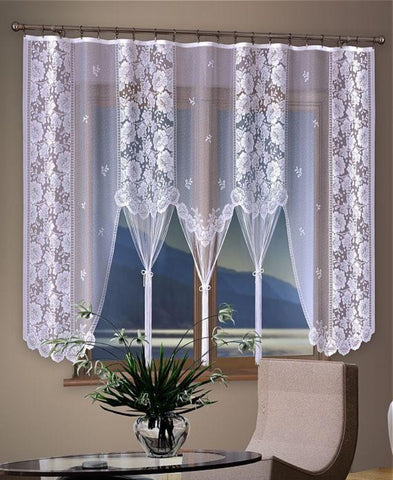 "Amazing Jardiniere Net Curtain ""Fantazja"" - Amazing Curtains"