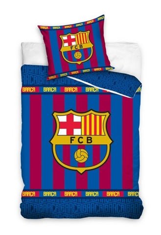 Official Bedding Set - Barcelona Stripes