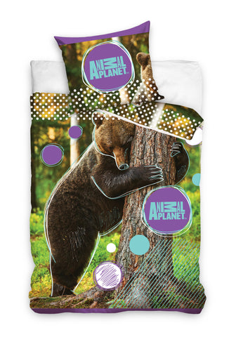 Animal Planet Bedding Set - Bear - Amazing Curtains