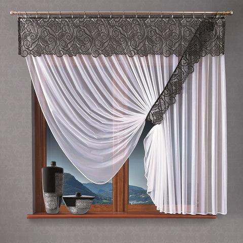 "Jardiniere Net Curtain ""BENITA"" - Amazing Curtains"