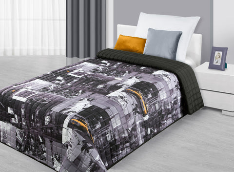 Modern Bedspread New York - Amazing Curtains