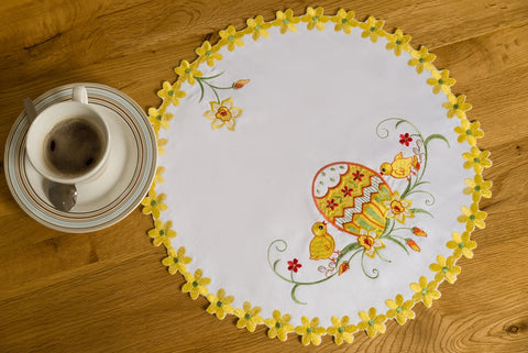 Easter Doily/Placemat - 40cm