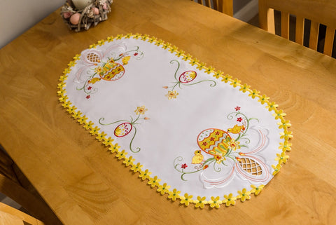 Easter Tablecloth - 35 x 70cm #1 - Amazing Curtains