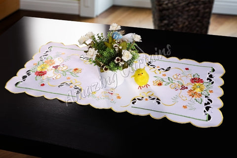 Easter Tablecloth with Sheep - 40 x 85cm - Amazing Curtains
