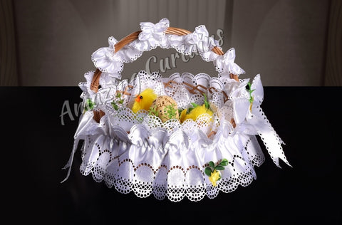 5 Pcs Set Easter Basket Decoration