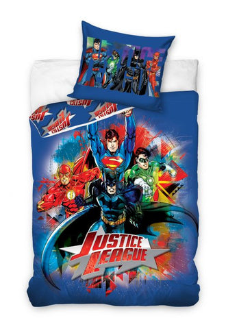 Justice League 100% Cotton Bedding Set - Amazing Curtains