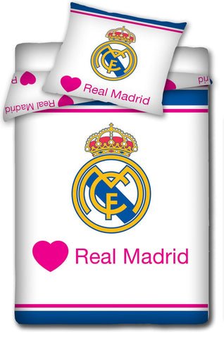 Official Bedding Set - Real Madrid Pink - Amazing Curtains
