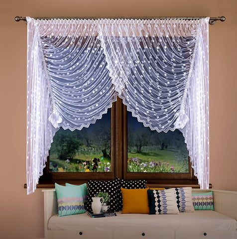 "Jardiniere Net Curtain ""SELENE"" - Amazing Curtains"