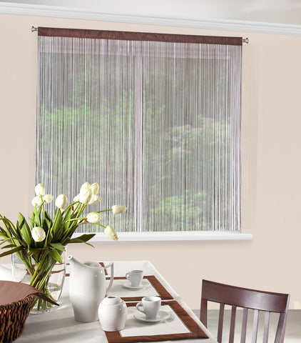 String Curtains - Brown - AmazingCurtains