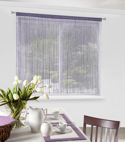 String Curtains - Purple - Amazing Curtains