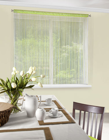String Curtains - Olive - Amazing Curtains