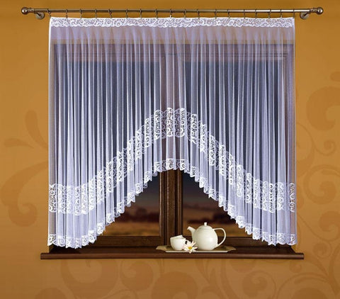 "Jardiniere Net Curtain ""Violetta"" - Amazing Curtains"