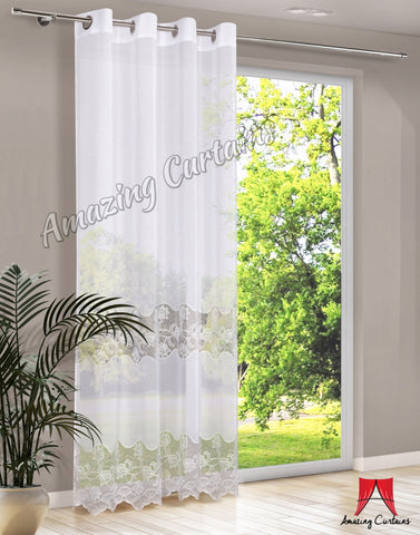 Sheer Voile Curtain Panel - Amazing Curtains
