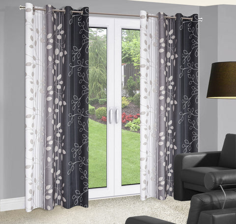 Marvelous Curtains - Black/Grey - Amazing Curtains