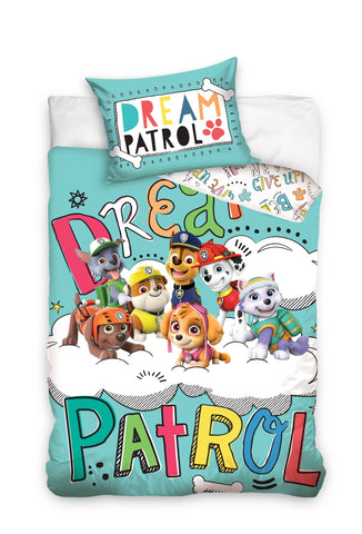 New Paw Patrol Toddler Cot Bed 100 x 135cm - Amazing Curtains