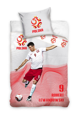 Official Bedding Set - Lewandowski #3 - Amazing Curtains